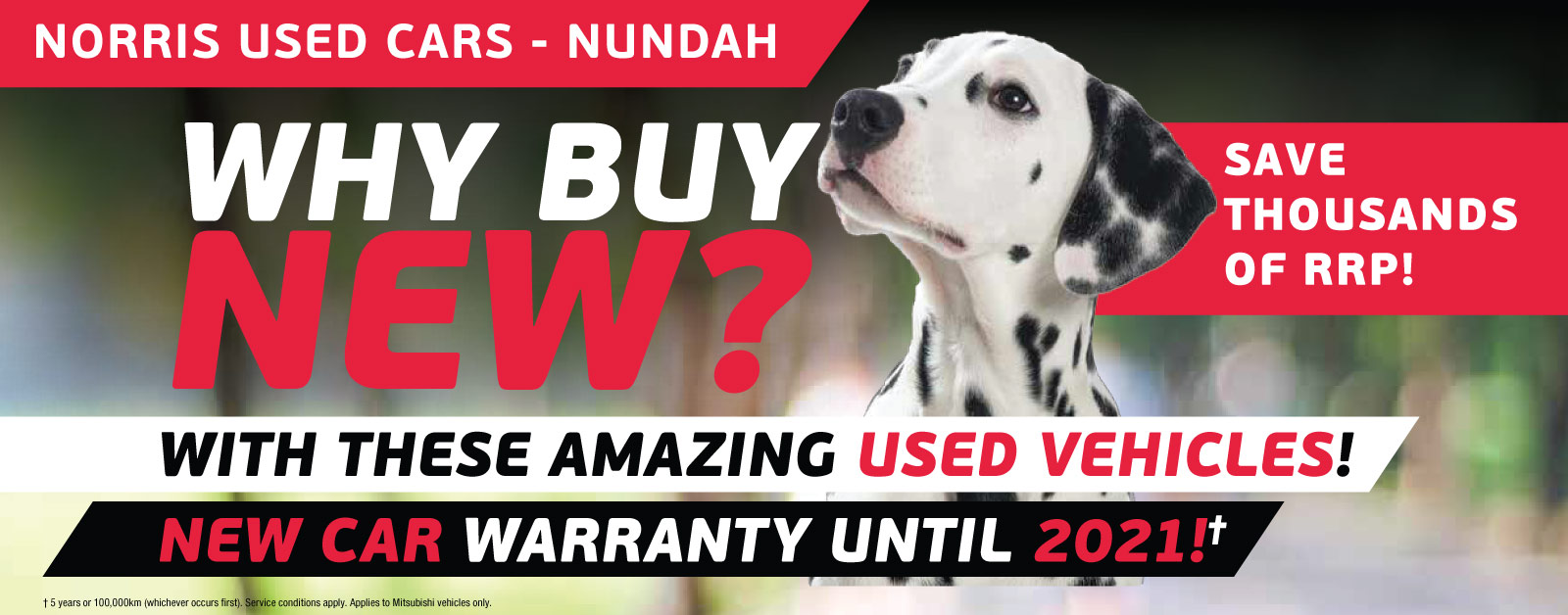 Why buy new? Save thousands of RRP!