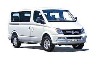 New LDV V80 Bus