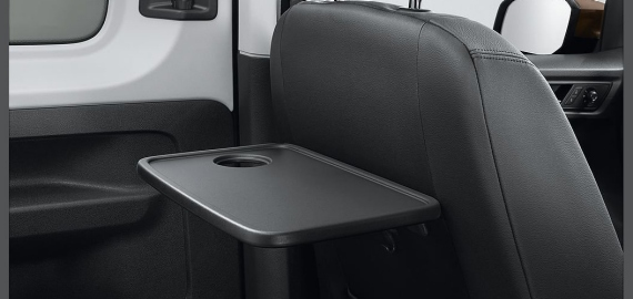 Caddy New folding table for rear seats