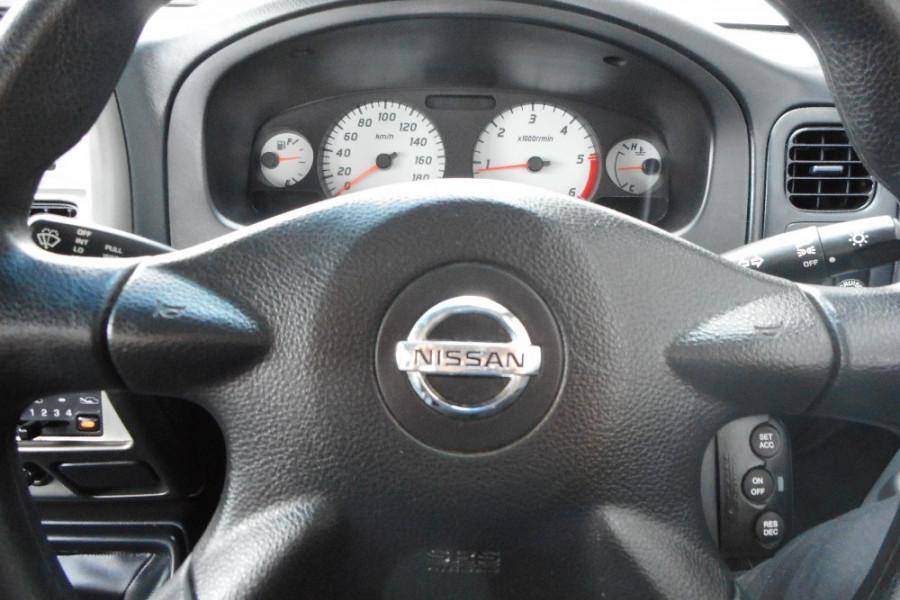 2013 Nissan Navara D22 S5 ST-R Utility