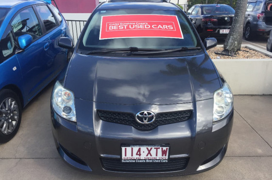 2008 Toyota Corolla ZRE152R Levin SX Hatchback