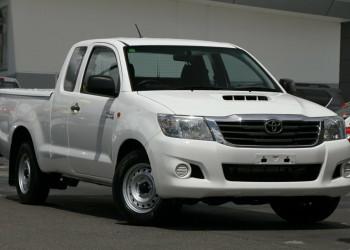 Toyota Hilux SR Double Cab KUN16R MY12