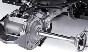 2013 KVF360 4x4 Fully-Enclosed Wet Rear Braking System