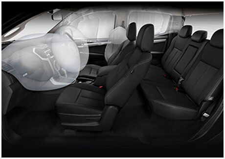 D-MAX 6 Airbags