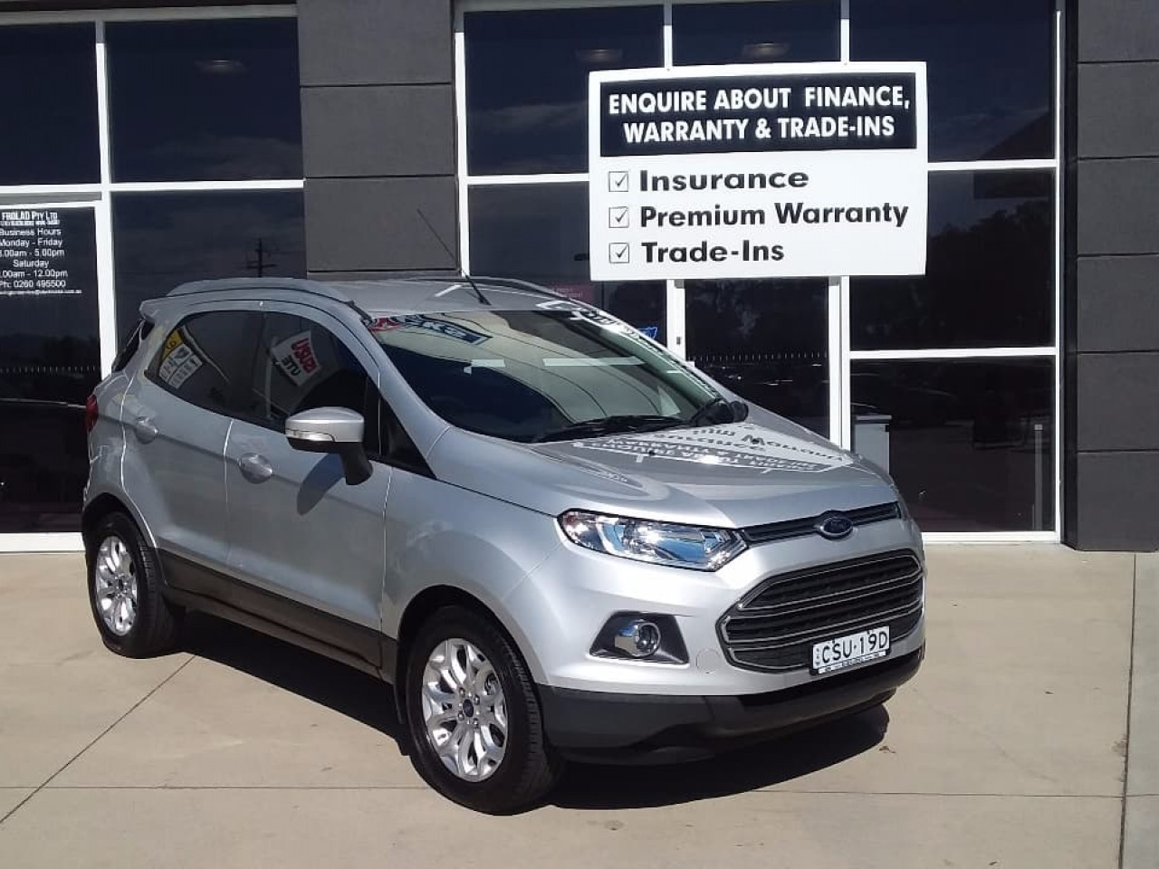 2014 Ford Ecosport BK TITANIUM Wagon