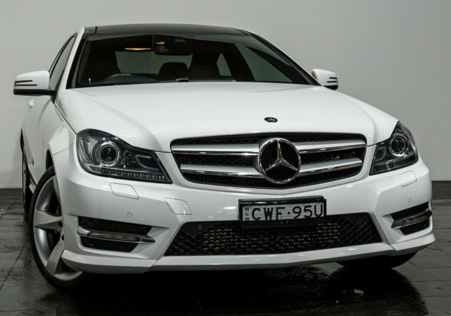 2014 Mercedes-Benz C250 C204 MY14 7G-Tronic + Coupe
