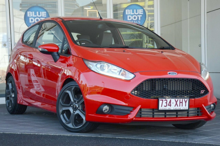 2017 MY16.5 Ford Fiesta WZ ST Hatchback