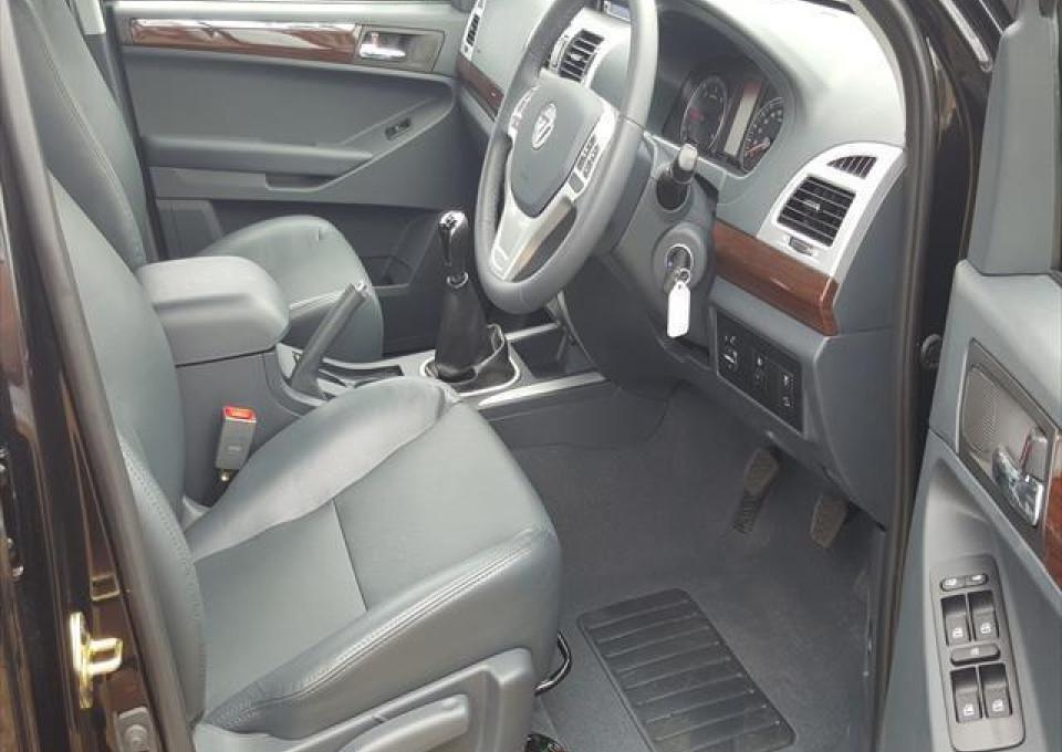2016 MY15 Foton Tunland P201 4x4 Dual Cab 4 x 4 double cab utility