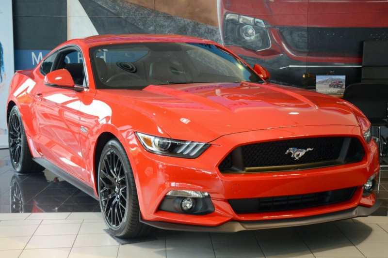 2016 MY17 Ford Mustang FM GT Fastback Fastback