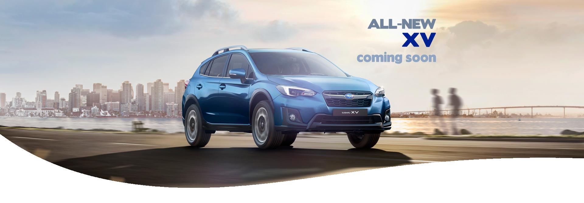 All-new XV arriving soon at Hunter Subaru
