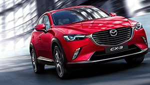 CX-3 The freedom to really move