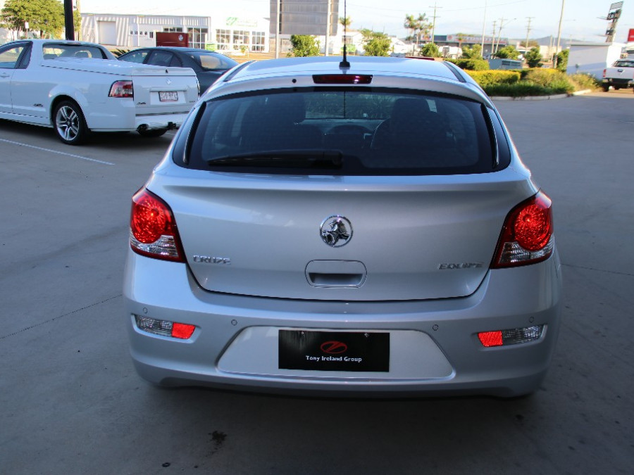 2016 Holden Cruze JH Series II Equipe Hatch Hatch