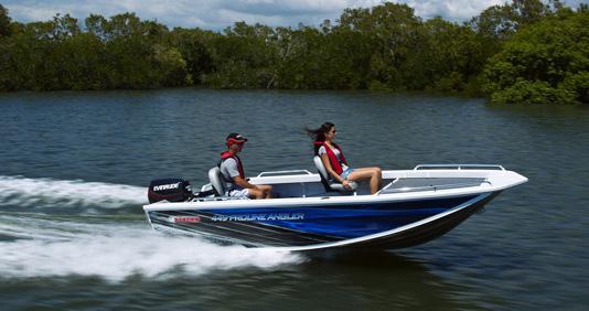 New Stacer 449S Proline Angler