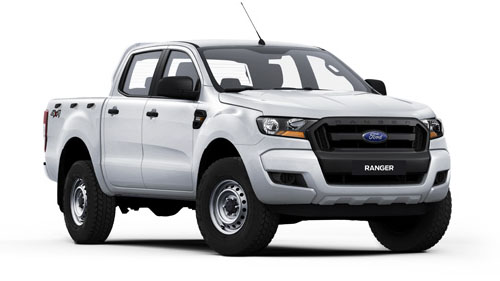 2016 MY17 Ford Ranger PX MkII 4x4 XL Double Cab Pickup 3.2L Utility