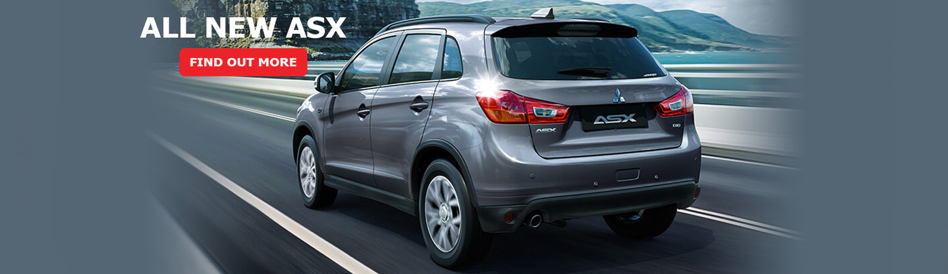 The all-new Mitsubishi ASX SUV is now available at Redcliffe Mitsubishi Brisbane.
