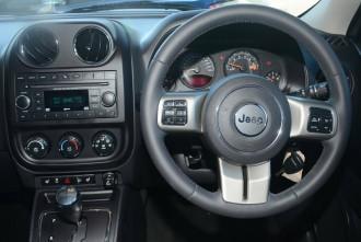 2014 MY Jeep Patriot MK MY14 Blackhawk CVT Auto Stick 4x2 Wagon