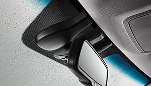 Elantra Electro-chromatic rear view mirror