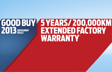 Good Buy 2013 Extended Warranty