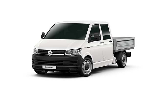 2017 MY18 Volkswagen Transporter T6 LWB Dual Cab Utility crew cab