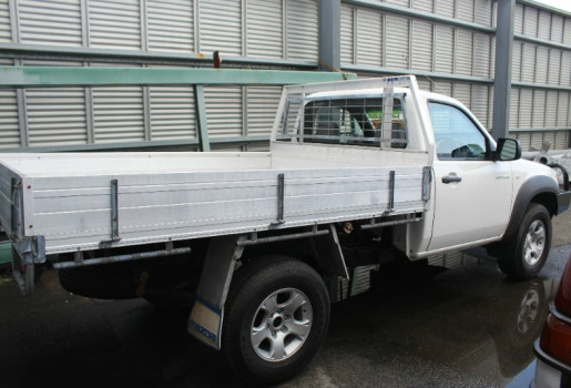 2009 Mazda BT-50 UNY0E4 DX SINGLE CAB Cab chassis