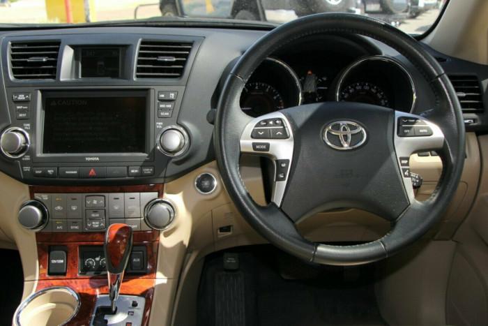 2013 MY12 Toyota Kluger GSU40R Grande AWD Wagon