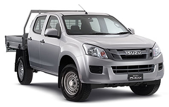 New Isuzu UTE 4x2 SX Crew Cab Chassis - High Ride