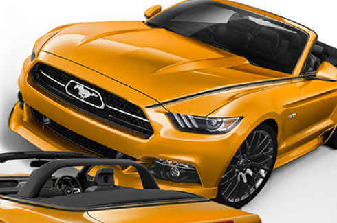 Mustang Styling Kit - FLA Convertible