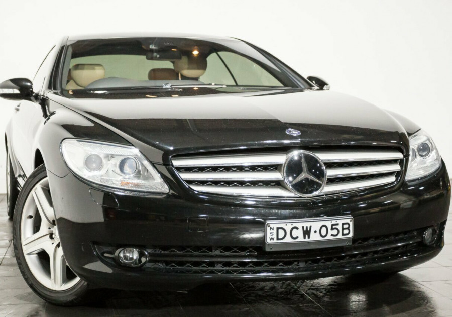 2007 Mercedes-Benz CL500 C216 Coupe