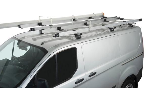 Carry bar ladder rack system