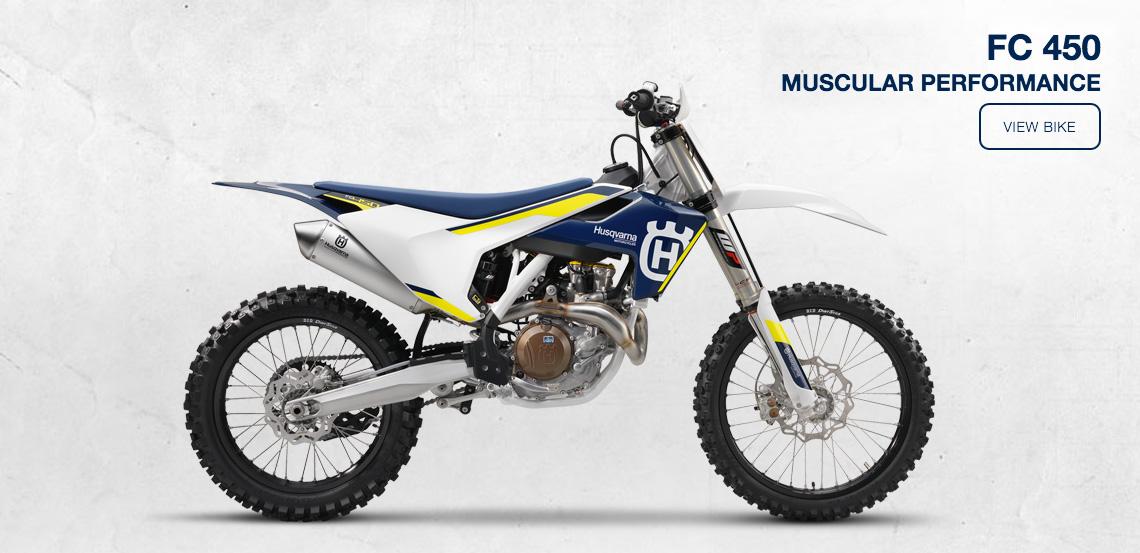 Husqvarna FC450 Motocross