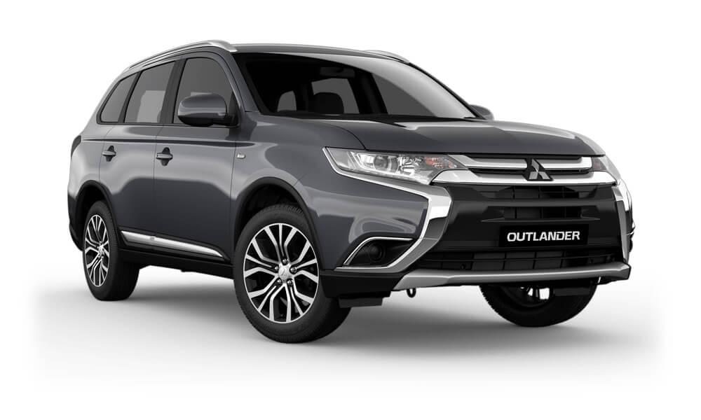 2017 MY18.5 Mitsubishi Outlander ZL ES Wagon