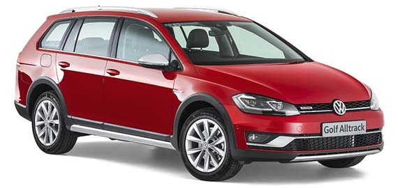 New Golf Alltrack Rugged good looks