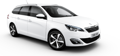 New Peugeot 308 Touring