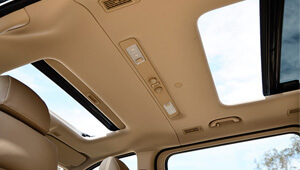 iMax Glass Sunroof with Blind