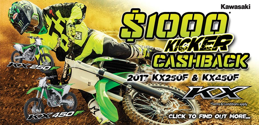 MX Kicker $1000 Cashback