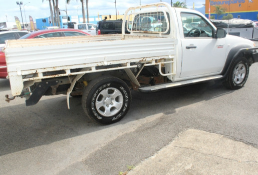 2010 MY11 Mazda BT-50 UNY0E4 DX SINGLE CAB Cab chassis