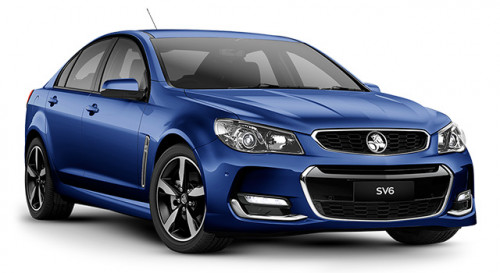 2017 Holden Commodore VF Series II SV6 Sedan Sedan