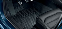 All-weather foot mats