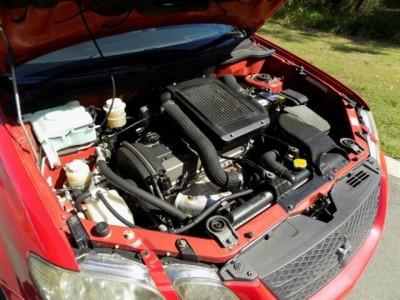 2002 Mitsubishi Airtrek CU2W Turbo R Wagon