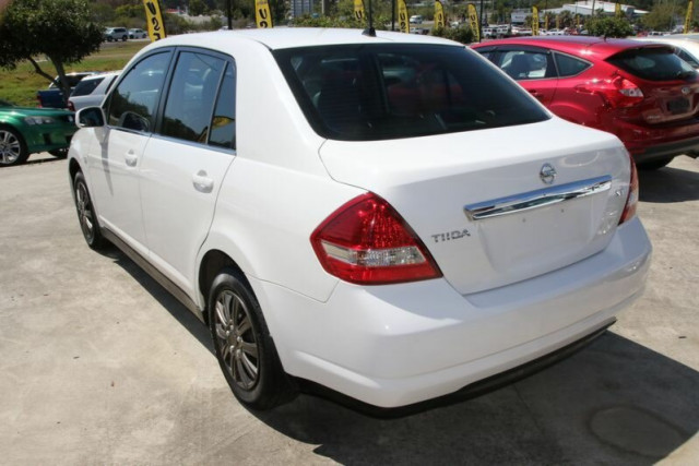2007 Nissan Tiida C11 MY07 ST Sedan