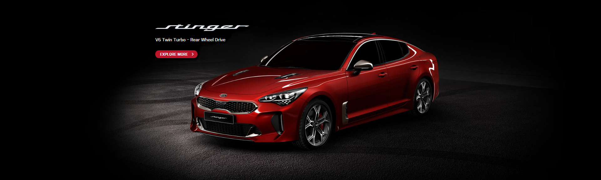 Kia Stinger Coming Soon Banner