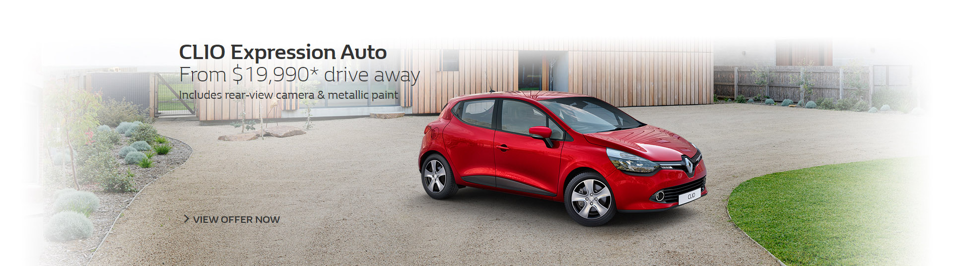 Renault Clio Expression auto from $19,990 drive away at Metro Renault Brisbane.