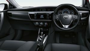 Sedan interior design