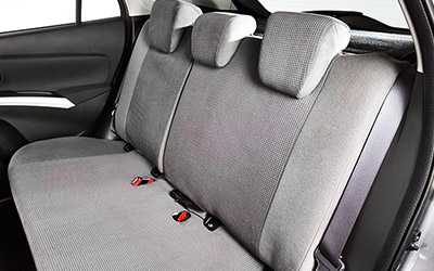 Fabric seat covers