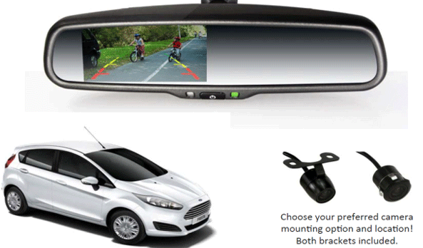 Go Technologies reversing camera