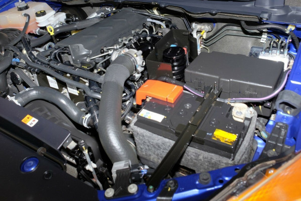 2013 Mazda BT-50 UP0YF1 XT Freestyle 4x2 Hi-Rider Cab chassis
