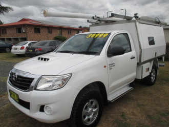 2013 Toyota HiLux KUN26R Turbo SR Cab chassis