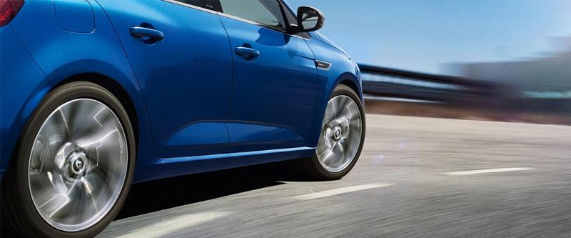 Megane Hatch 4CONTROL - Four wheel steering system