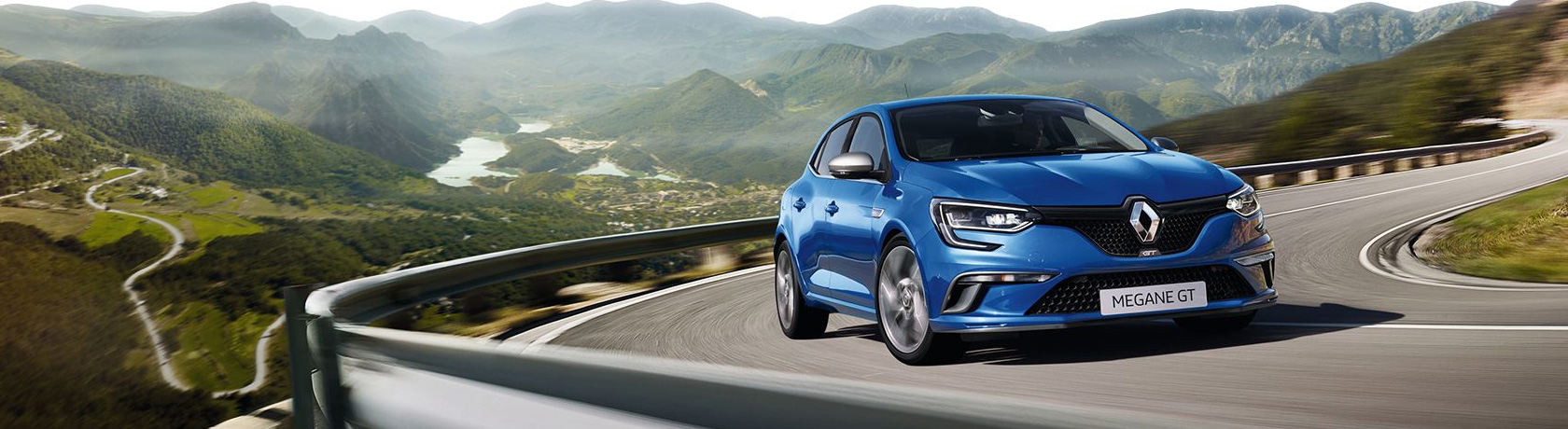 Take to the mountain roads in a new Renault Megane GT hatch from Metro Renault in Brisbane.