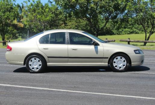 2007 Ford Falcon BF MK II XT Sedan